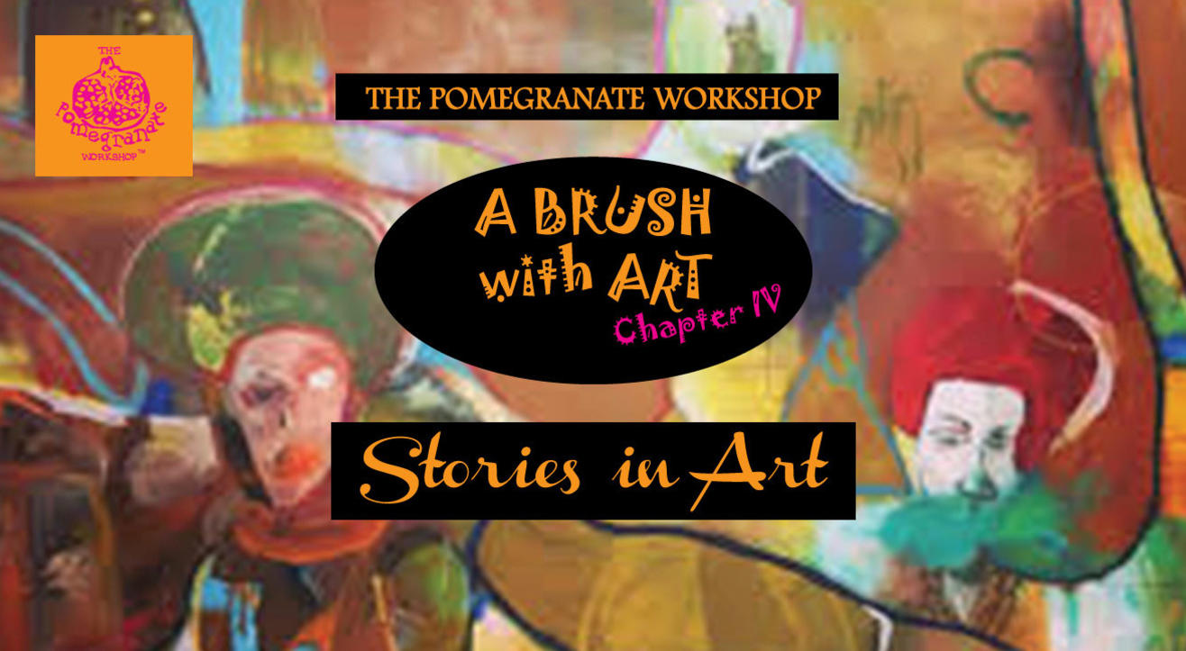 A Brush with Art – Stories in Art!