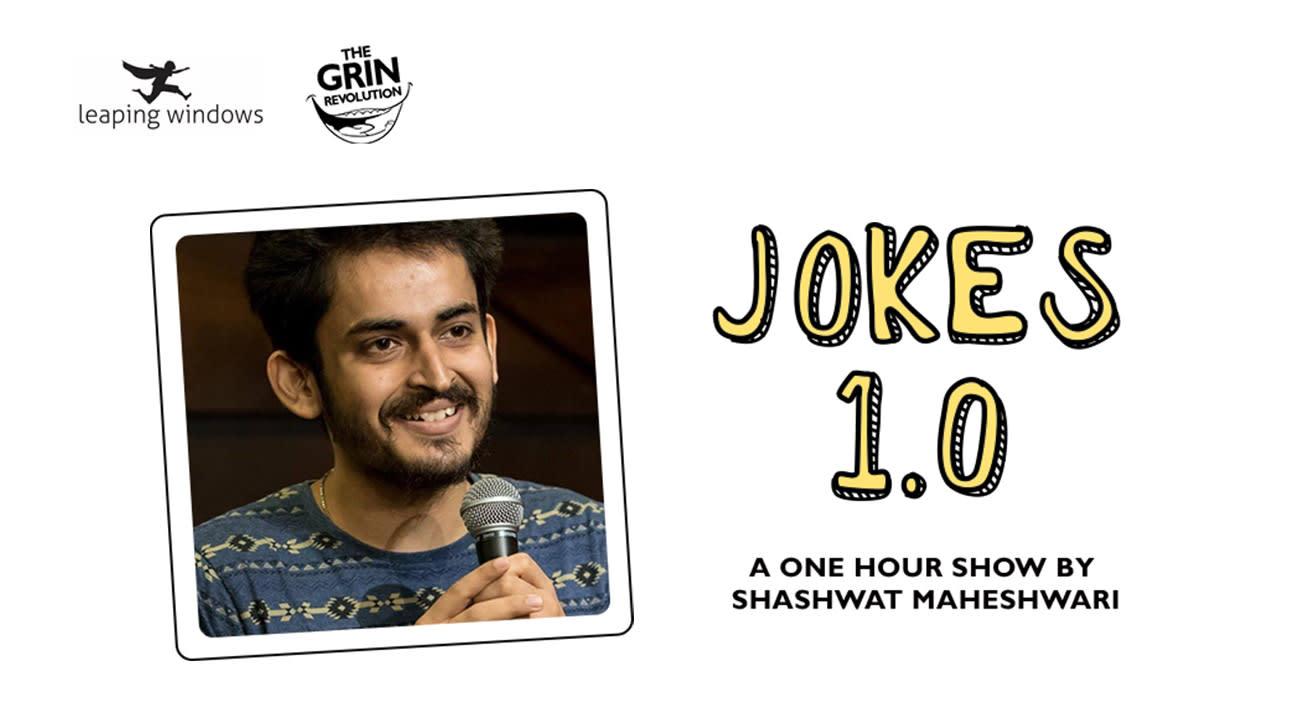 Grin Revolution: Jokes 1.0 by Shashwat Maheshwari
