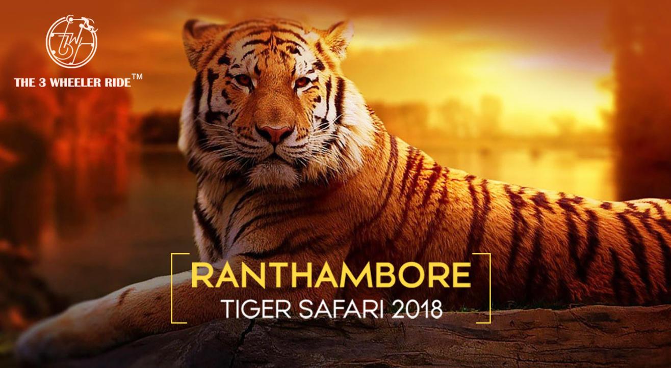 T3WR - Ranthambore National Park Safari 2018