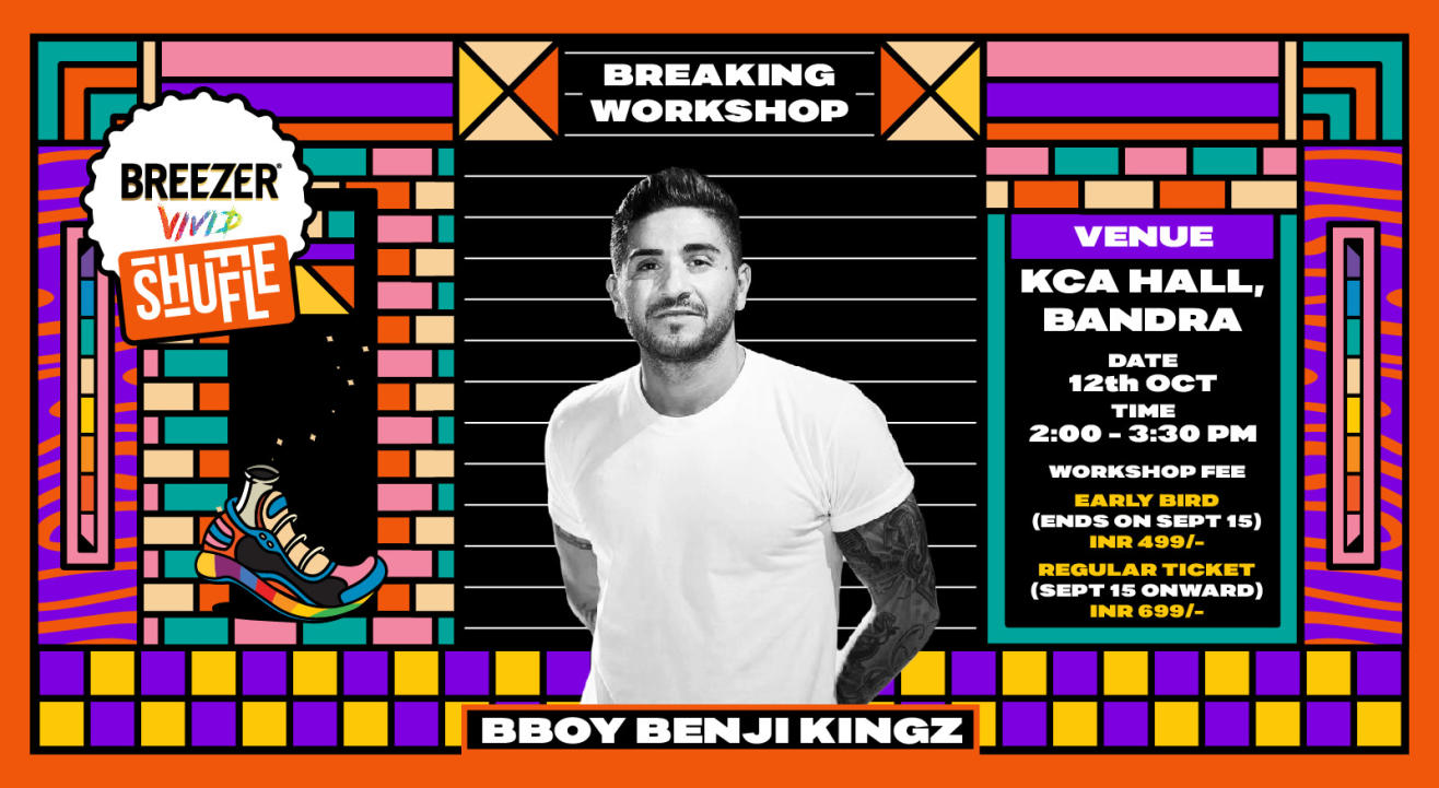 Breezer Vivid Shuffle – Bboy Benjikings