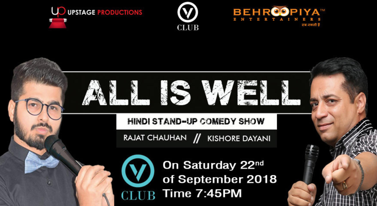 All Is Well, Hinglish Standup Comedy
