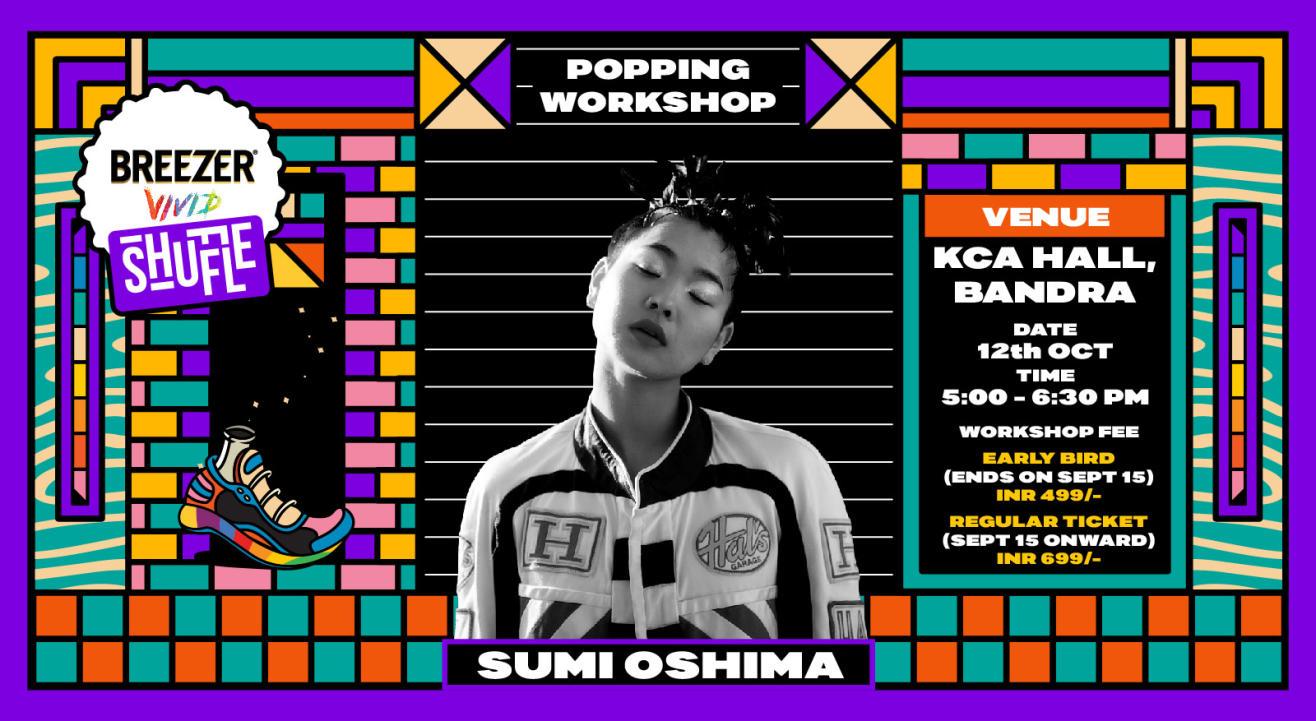 Breezer Vivid Shuffle – Sumi Oshima Workshop
