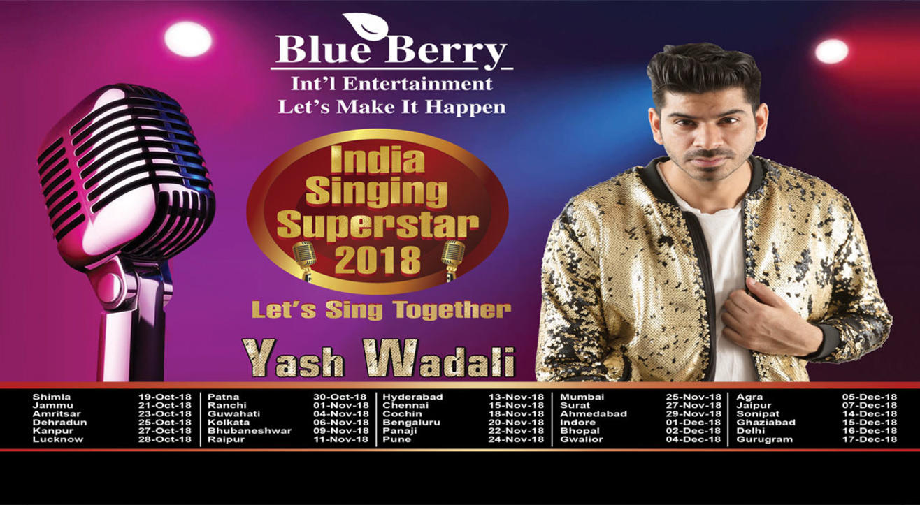 INDIA SINGING SUPERSTAR—2018, Bengaluru