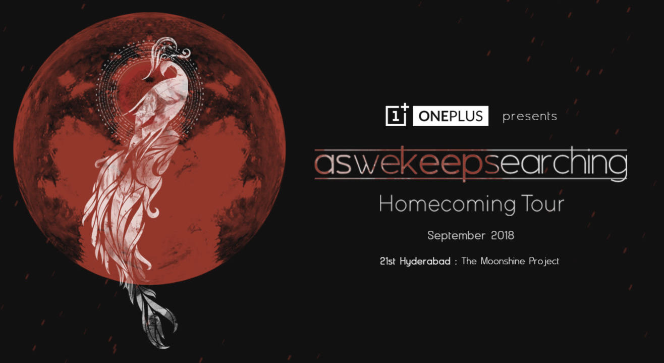 aswekeepsearching Homecoming Tour, Hyderabad