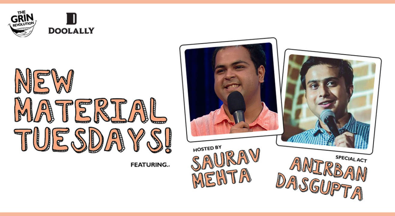 Grin Revolution: New Material Tuesdays with Saurav Mehta