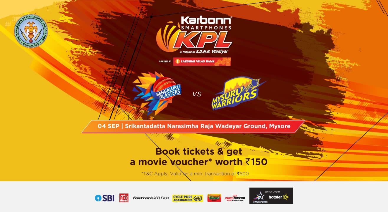 KPL 2018 | Bengaluru Blasters vs Mysuru Warriors