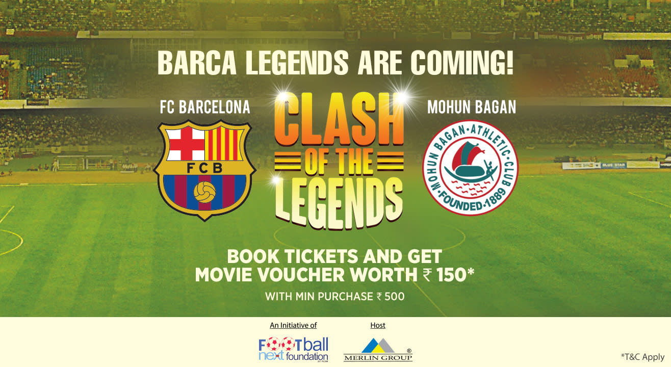 Clash of the Legends 2018: Barcelona FC vs Mohun Bagan AC