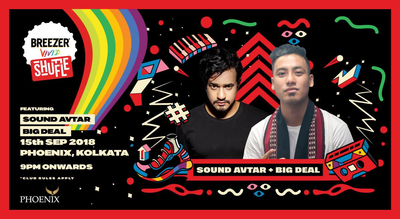 Breezer Vivid Shuffle – Hip-Hop Club Shows (Kolkata)