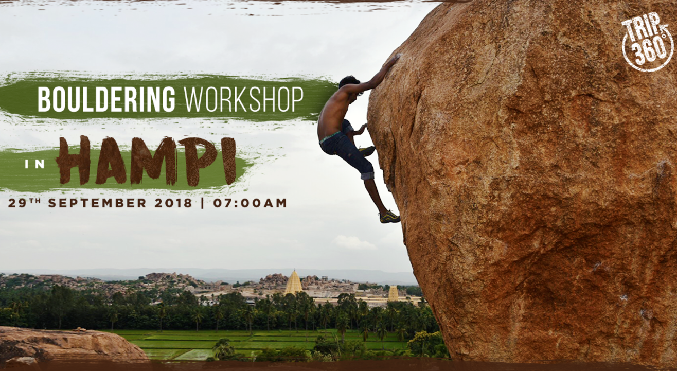 Bouldering Workshop in Hampi
