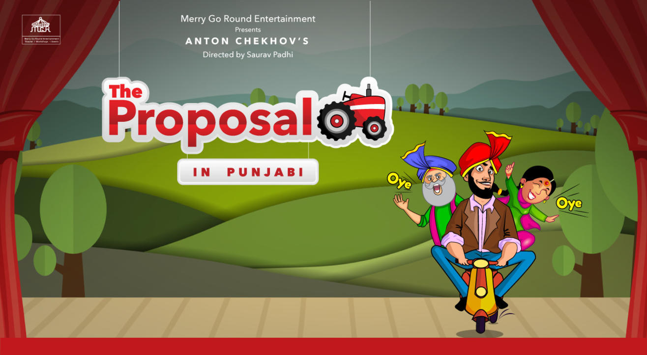 "Anton Chekov's ""The Proposal – In Punjabi"""