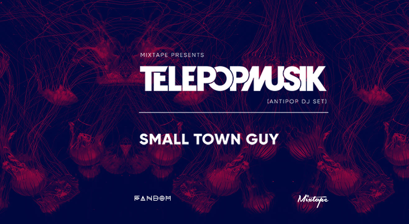 Fandom x Mixtape presents Telepopmusik (Antipop DJ Set) w/ Small Town Guy