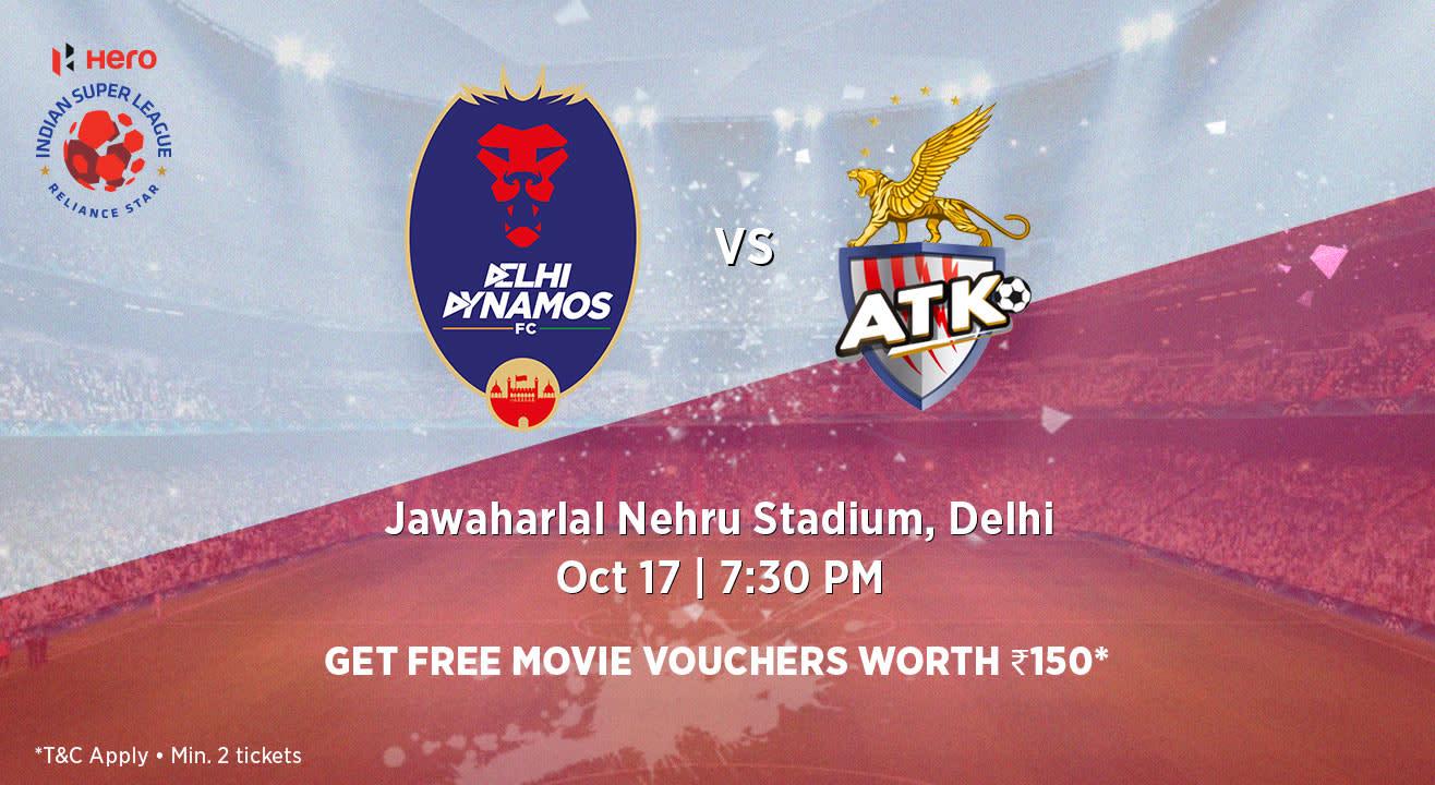 Hero Indian Super League 2018-19: Delhi Dynamos FC vs ATK FC