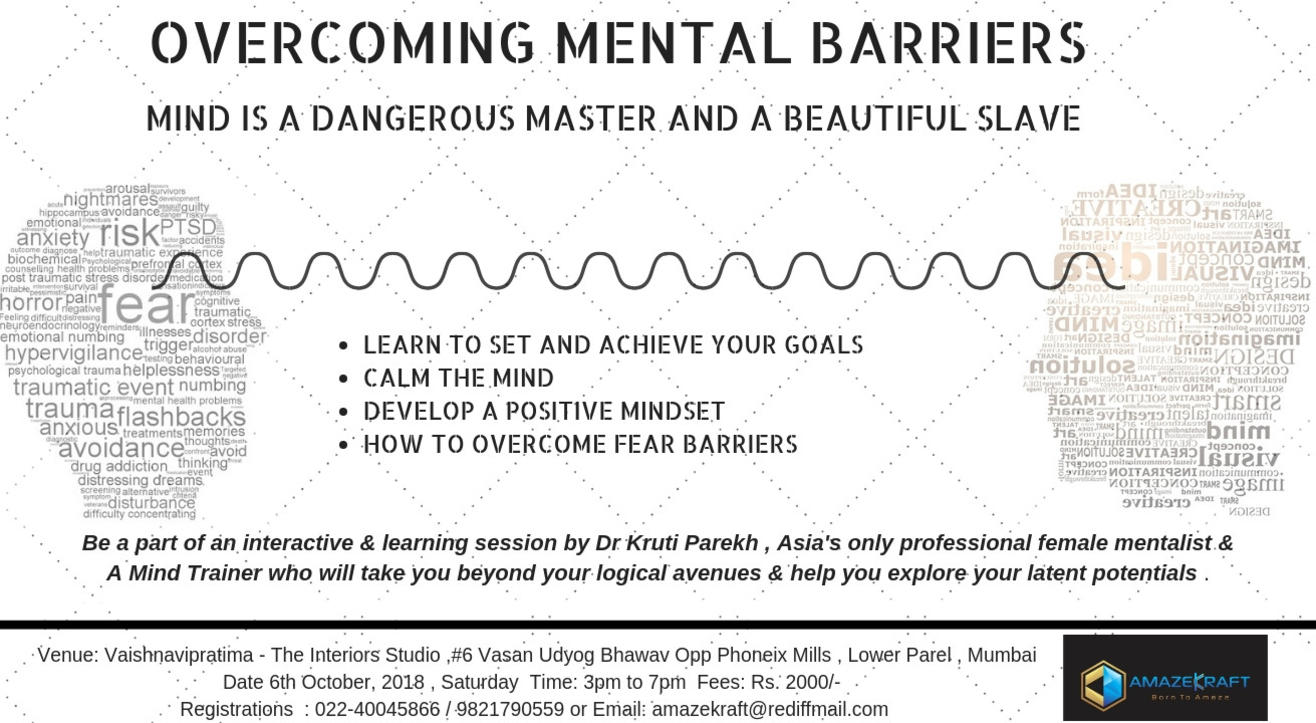 Overcoming Mental Barrier