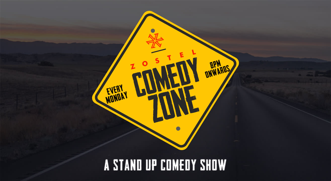 Zostel Comedy Zone- A stand-up comedy show