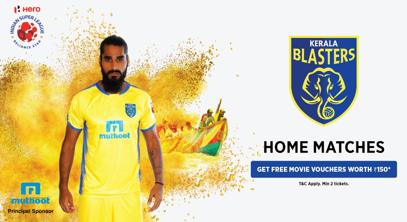 Indian Super League 2018-2019: Kerala Blasters FC: Tickets, News, Schedule & More!