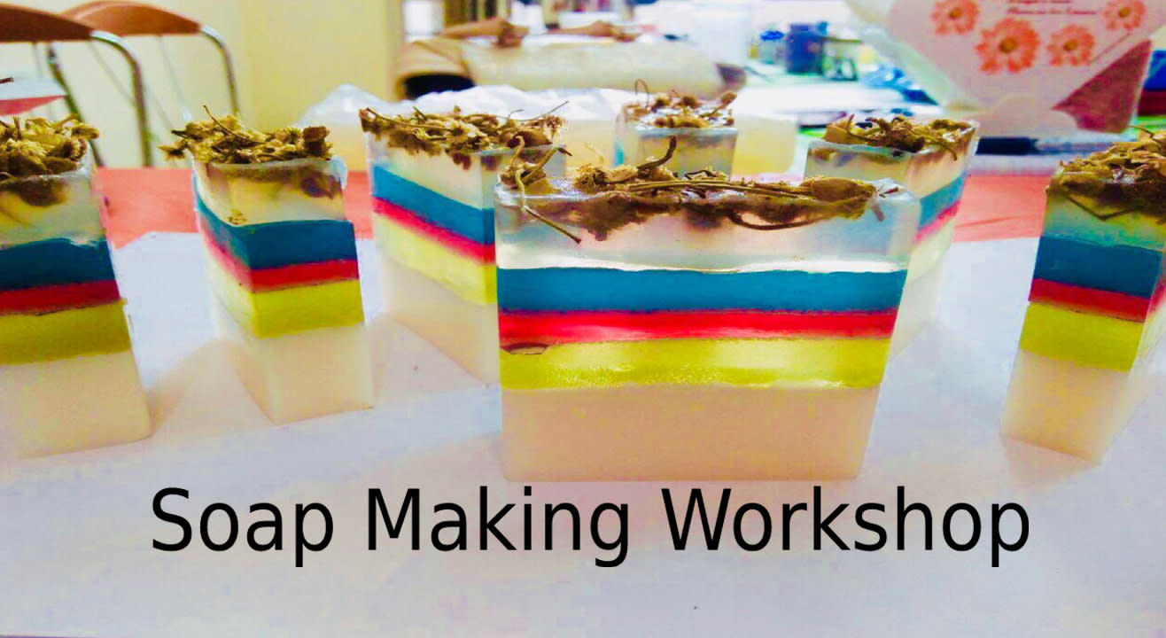 Book tickets to Soap Making Workshop