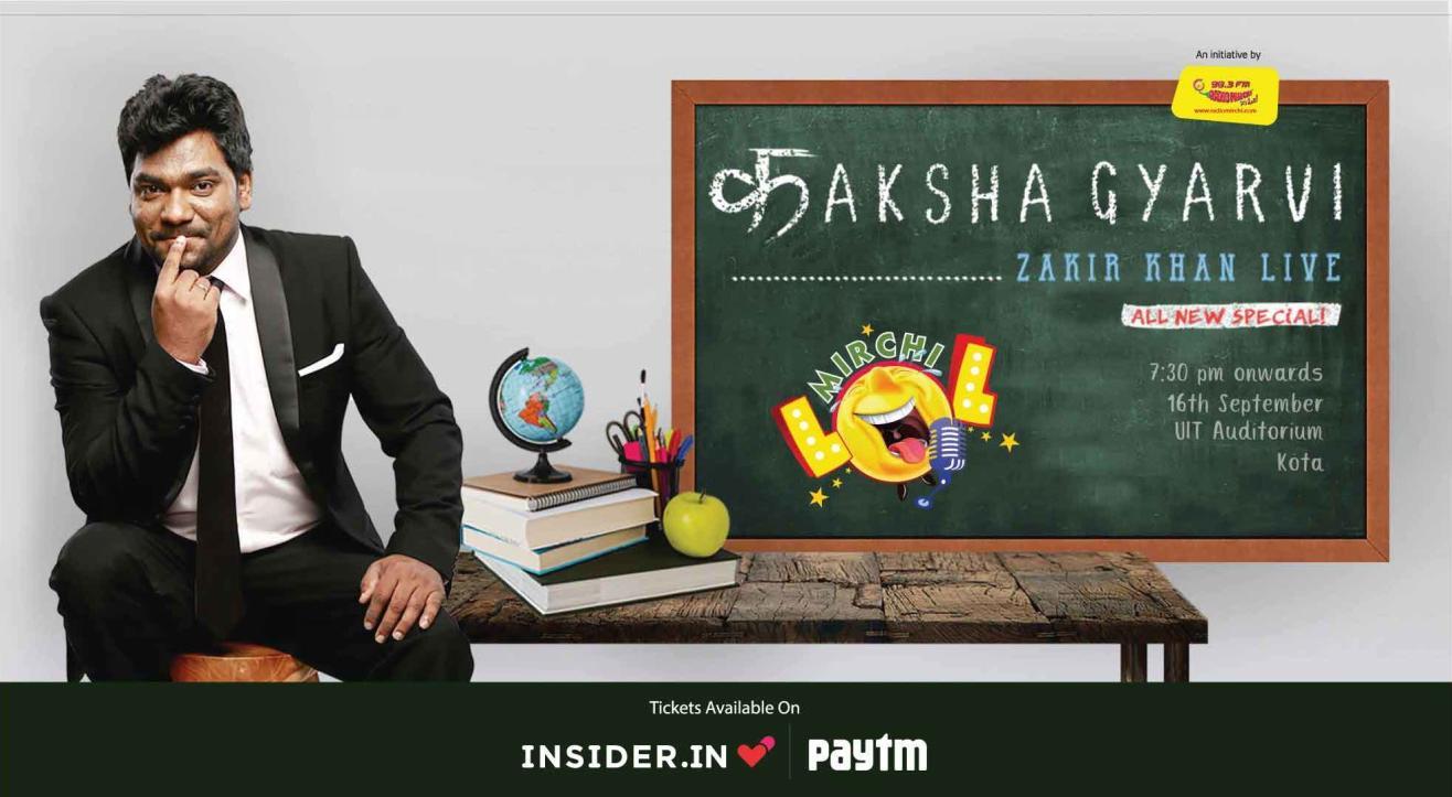 Kaksha Gyarvi – A New Stand up Special By Zakir Khan, Kota