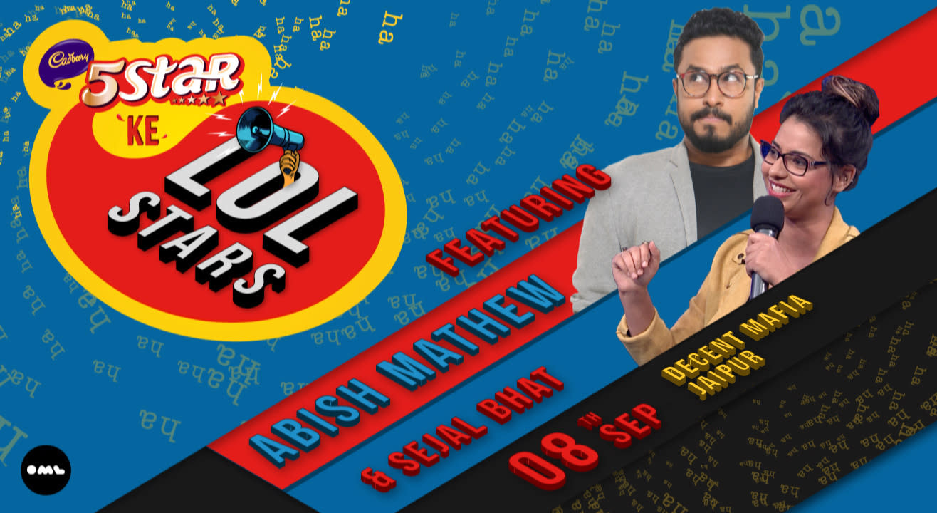 5 Star ke LOLStars ft. Abish Mathew and Sejal Bhat, Jaipur