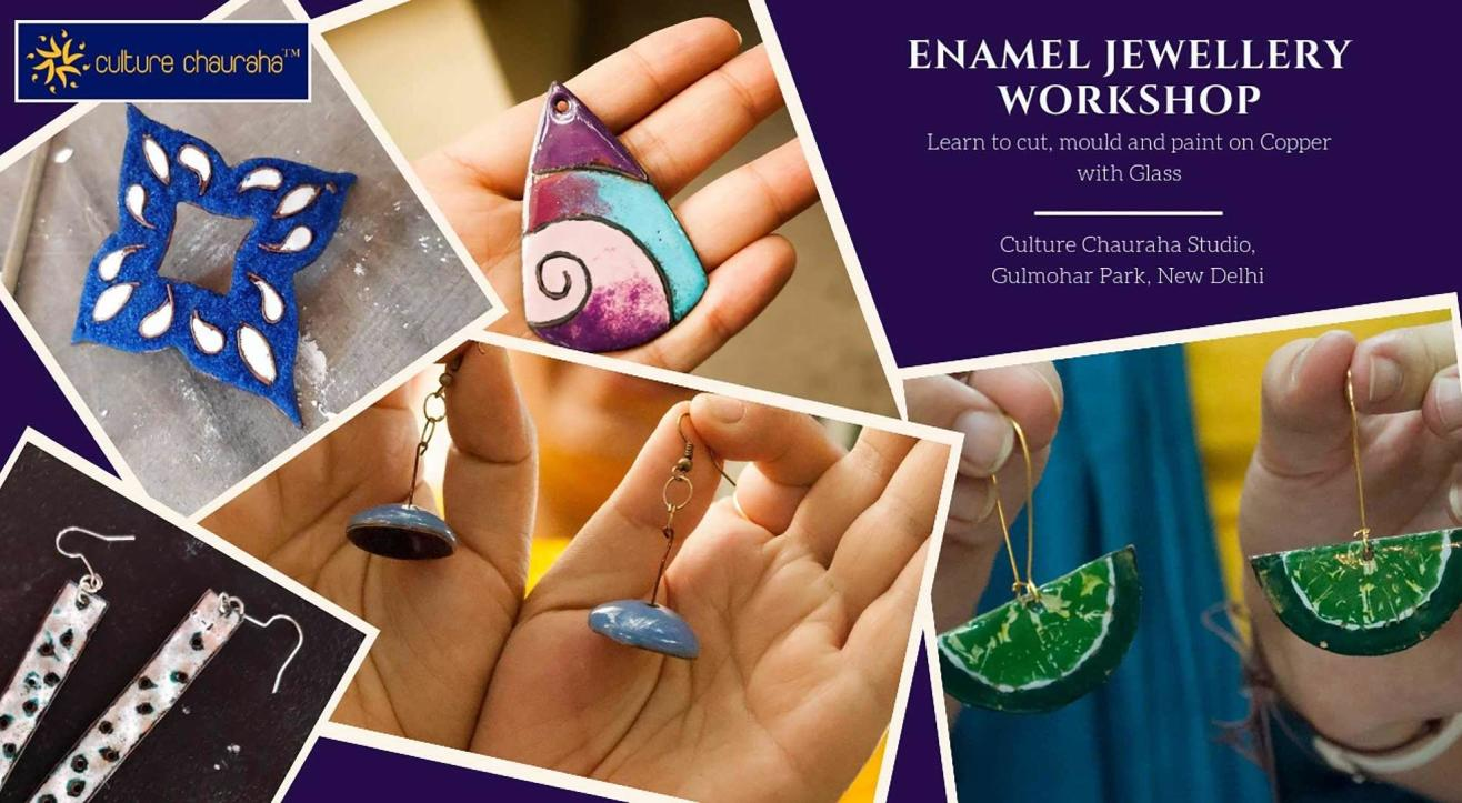One-Day Enamel Jewellery Workshop