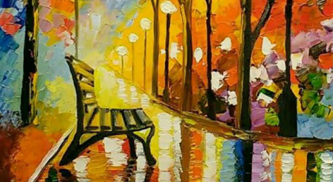 Knife Painting in Acrylic Colors – Beginner workshop
