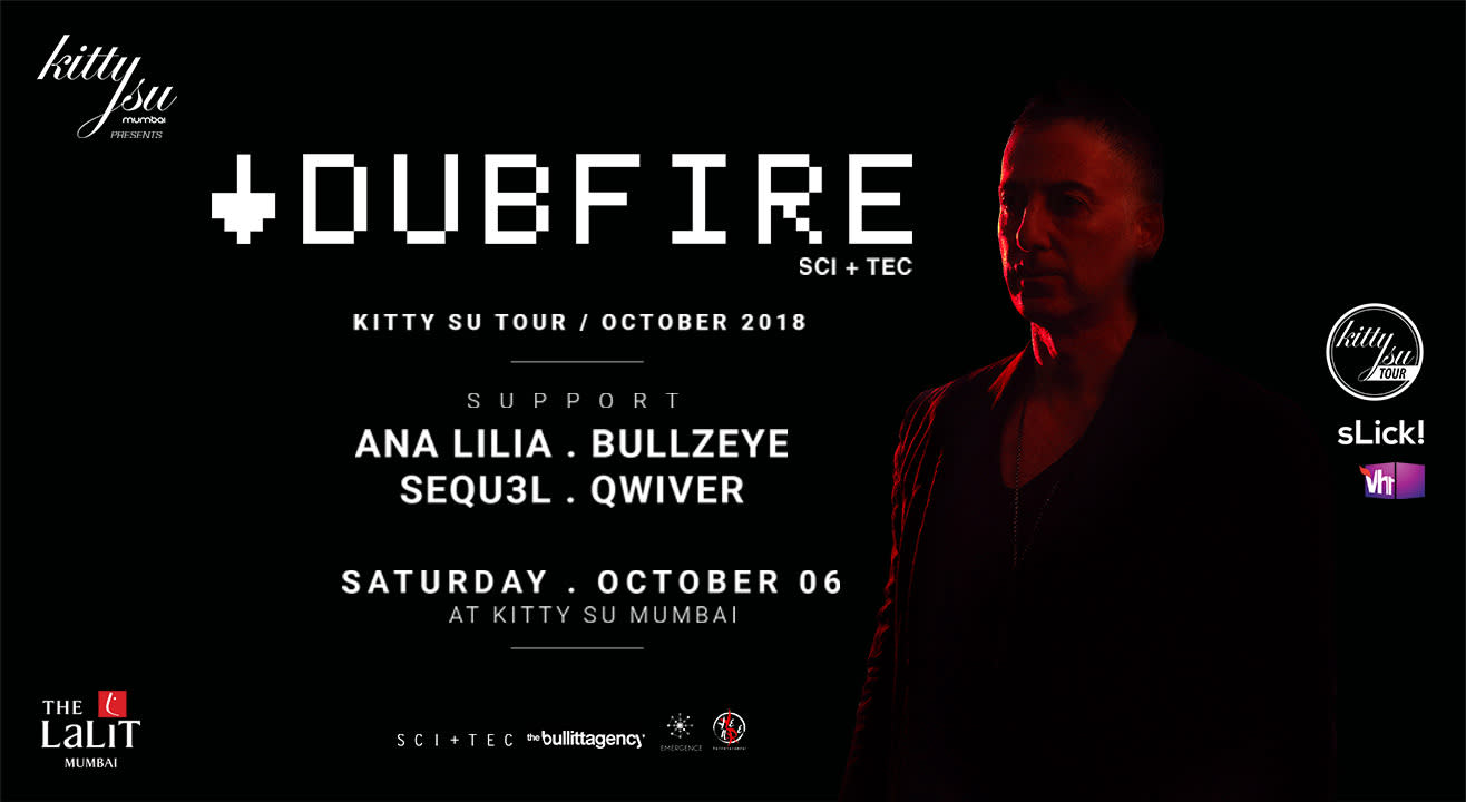 Dubfire Indian Tour 2018