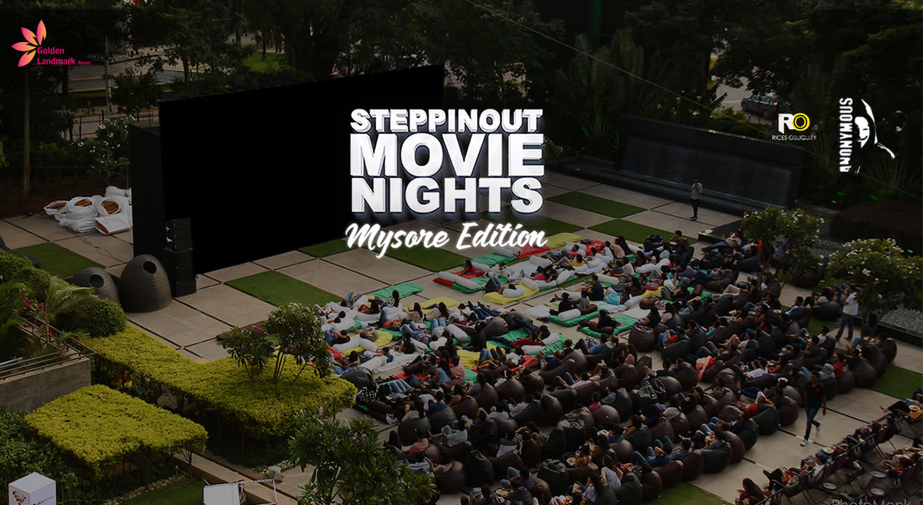 SteppinOut Movie Nights - Mysuru Edition