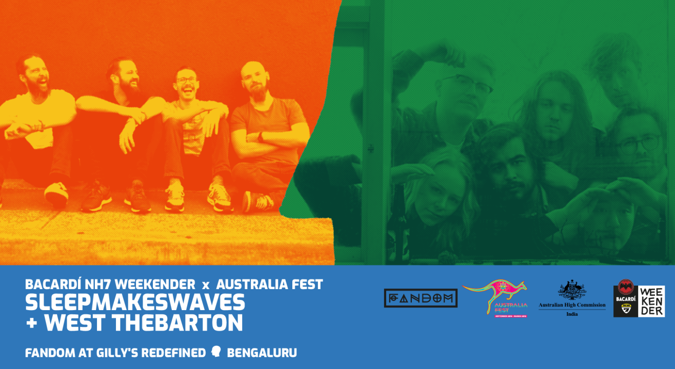 Bacardi NH7 Weekender x Australia Fest: West Thebarton and sleepmakeswaves