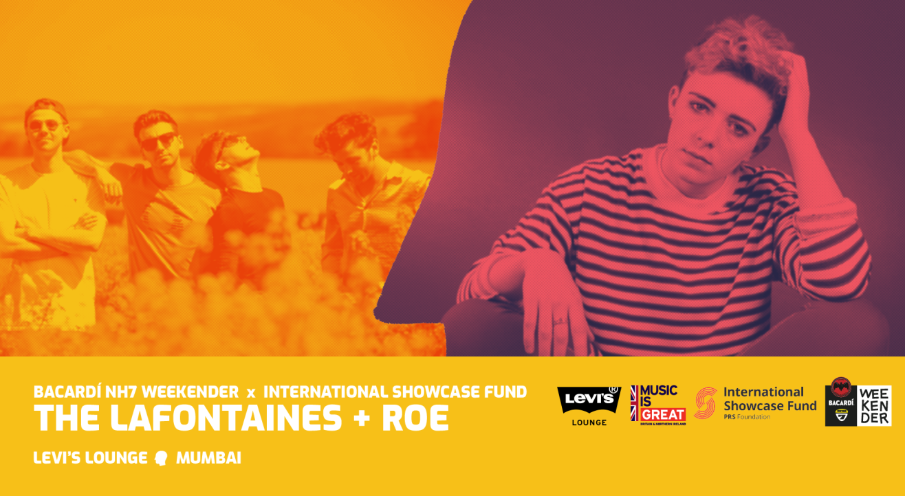 Bacardi NH7 Weekender x PRS Showcase: The LaFontaines + ROE