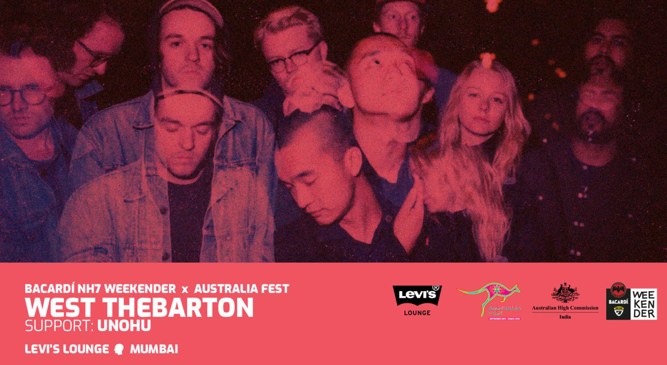 Bacardi NH7 Weekender x Australia Fest: West Thebarton and Unohu
