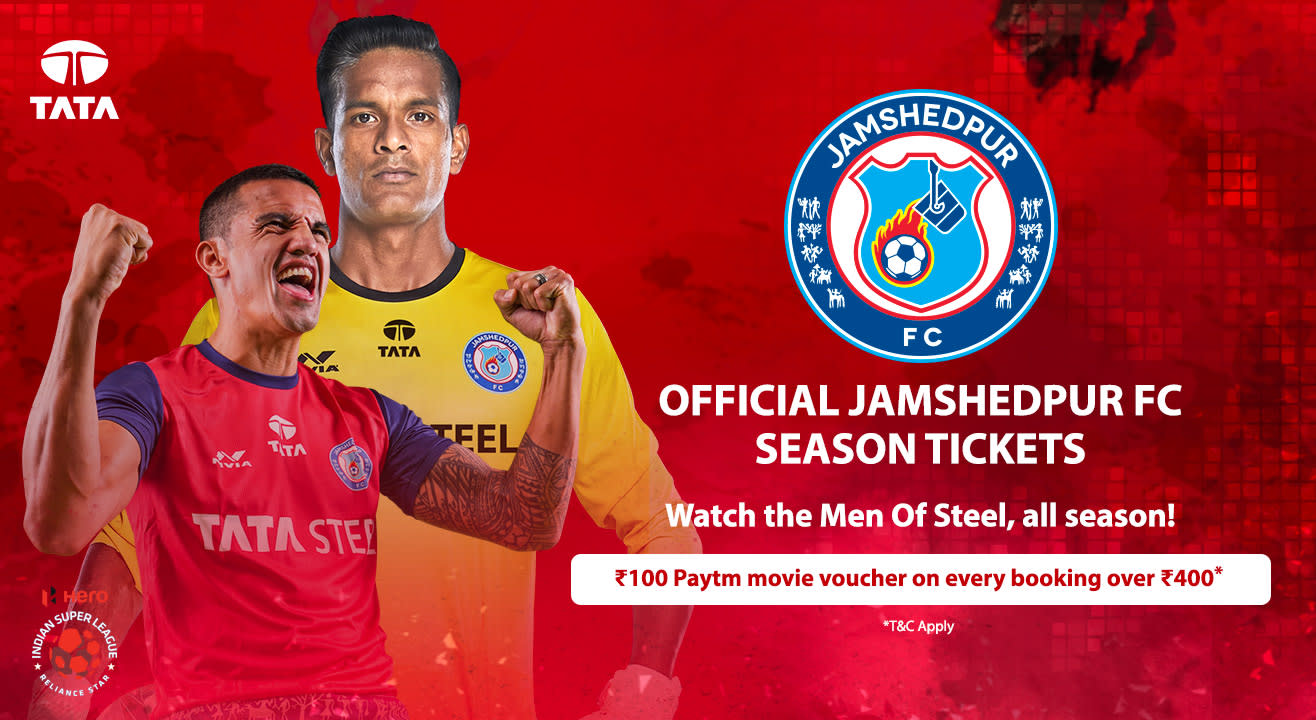 HERO Indian Super League 2018-19: Jamshedpur FC Season Tickets