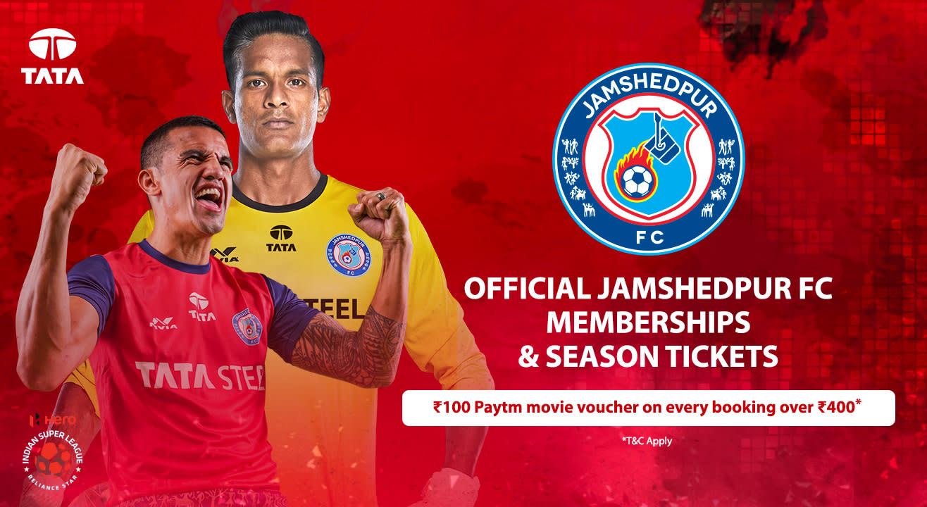 Indian Super League 2018-2019: Jamshedpur FC: Memberships, Season Tickets, News, Schedule & More!