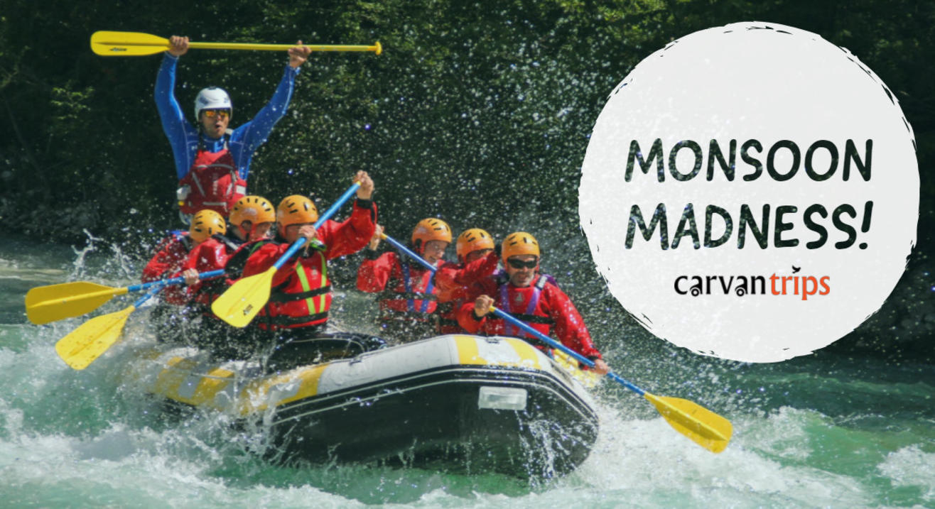 Rafting Madness at Kolad Maharasthra