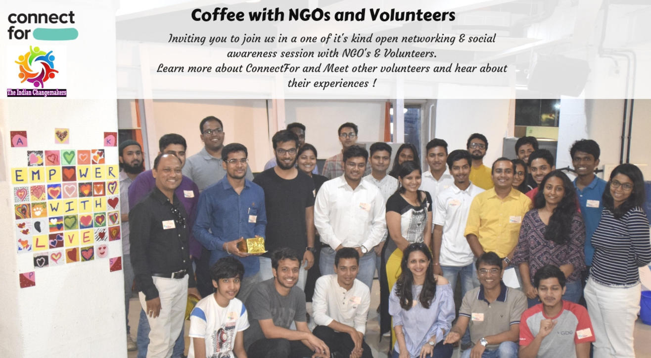 Coffee with NGOs and Volunteers