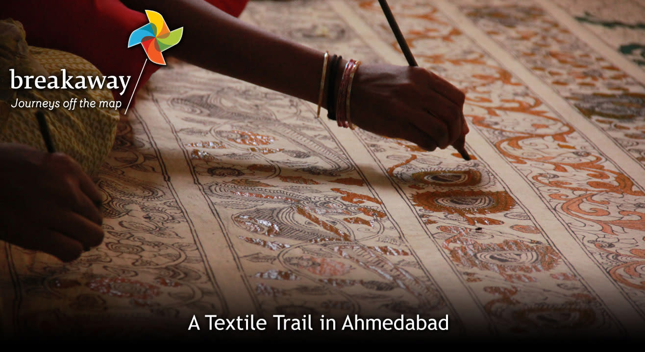 A Textile Trail in Ahmedabad