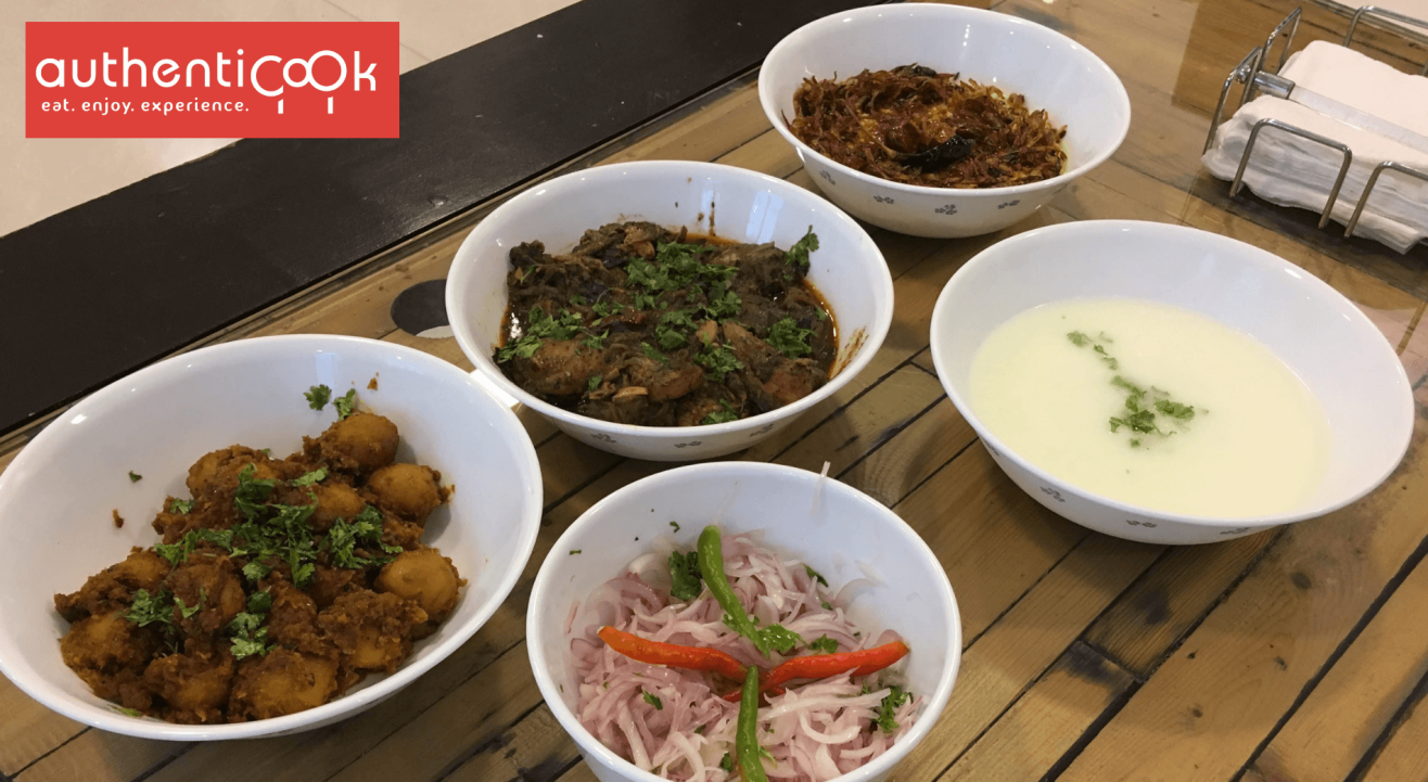 Authenticook Presents Lucknow Food in Mumbai