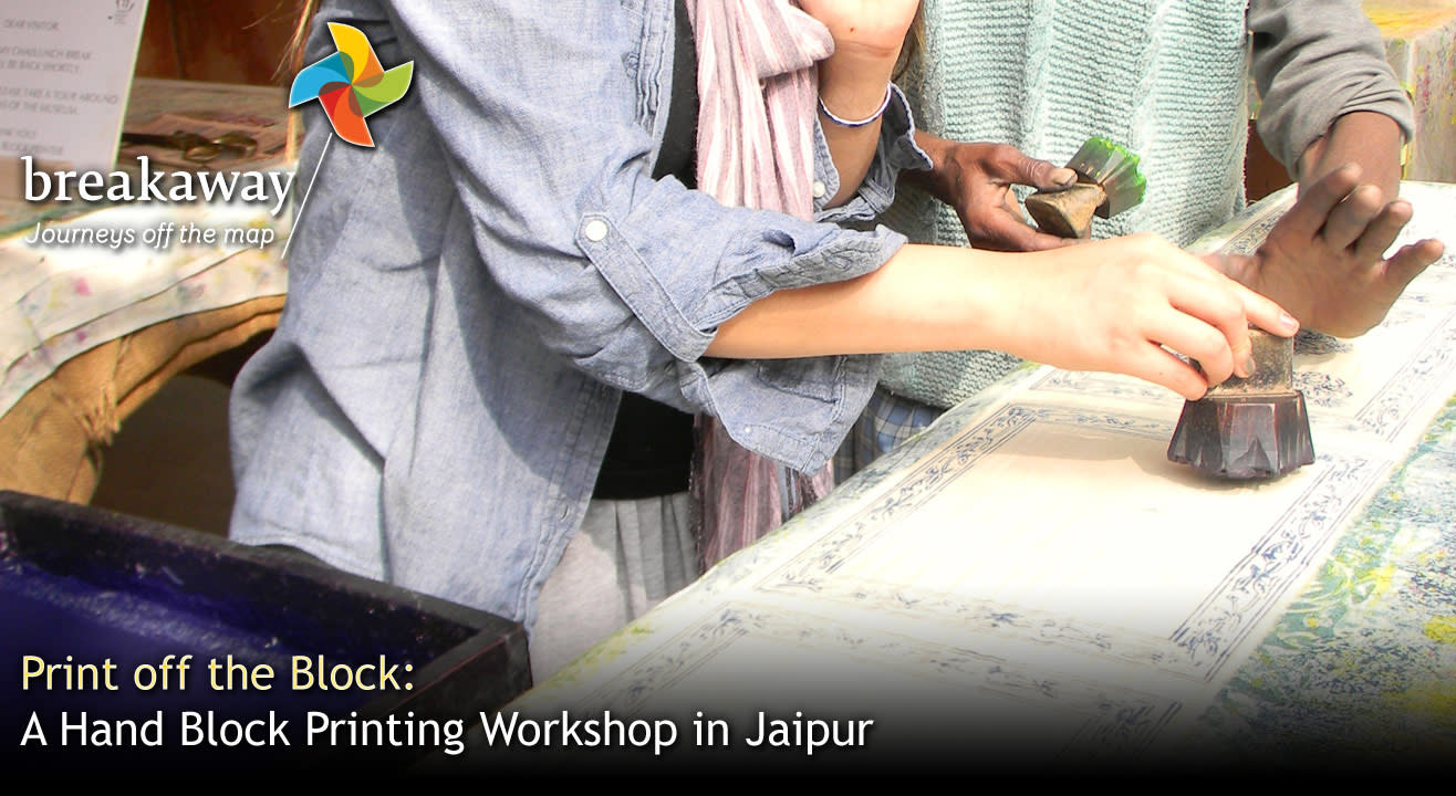 Print off the Block: A Hand Block Printing Workshop in Jaipur