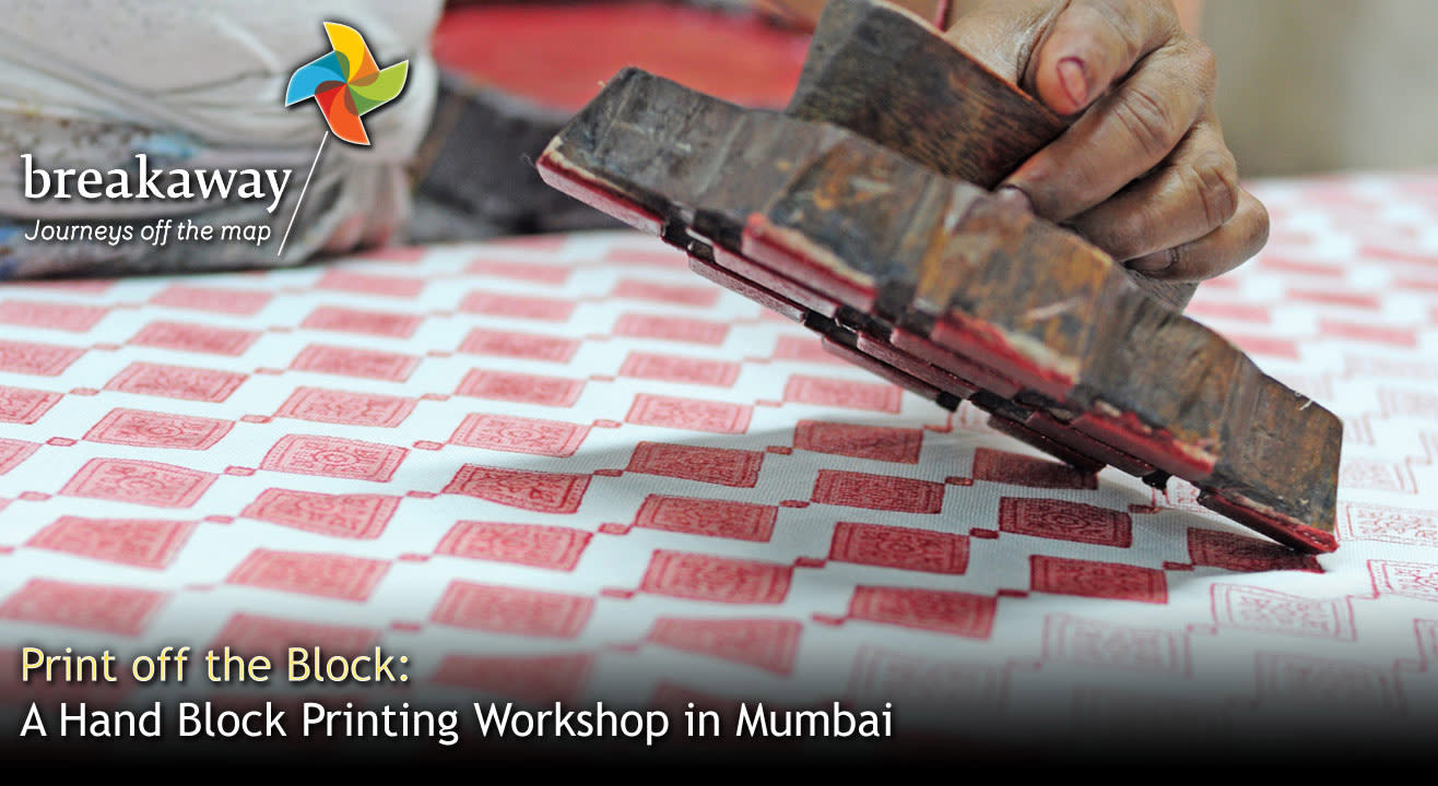 Print off the Block: A Hand Block Printing Workshop in Mumbai