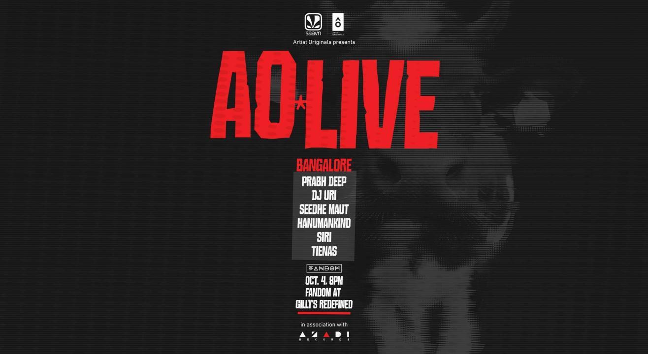 Artist Originals presents AO LIVE in association with Azadi