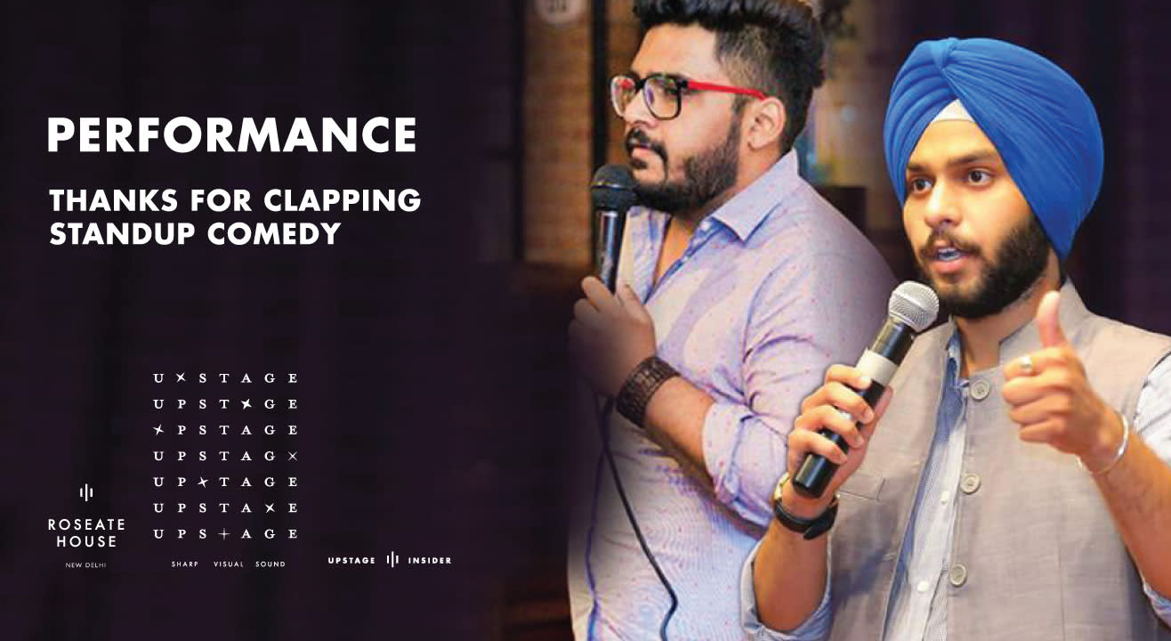Thanks For Clapping : Standup Comedy