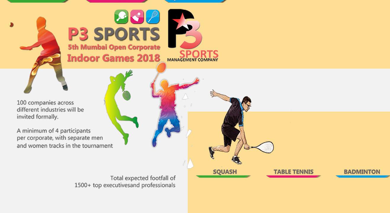 P3 Sports 5th Mumbai Indoor Inter Corporate Event