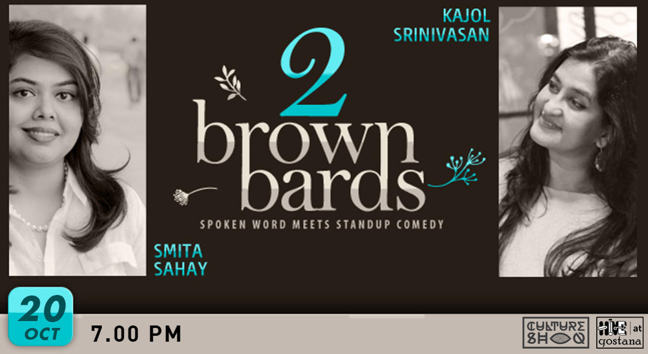 2 Brown Bards: Spoken Word meets Stand Up Comedy