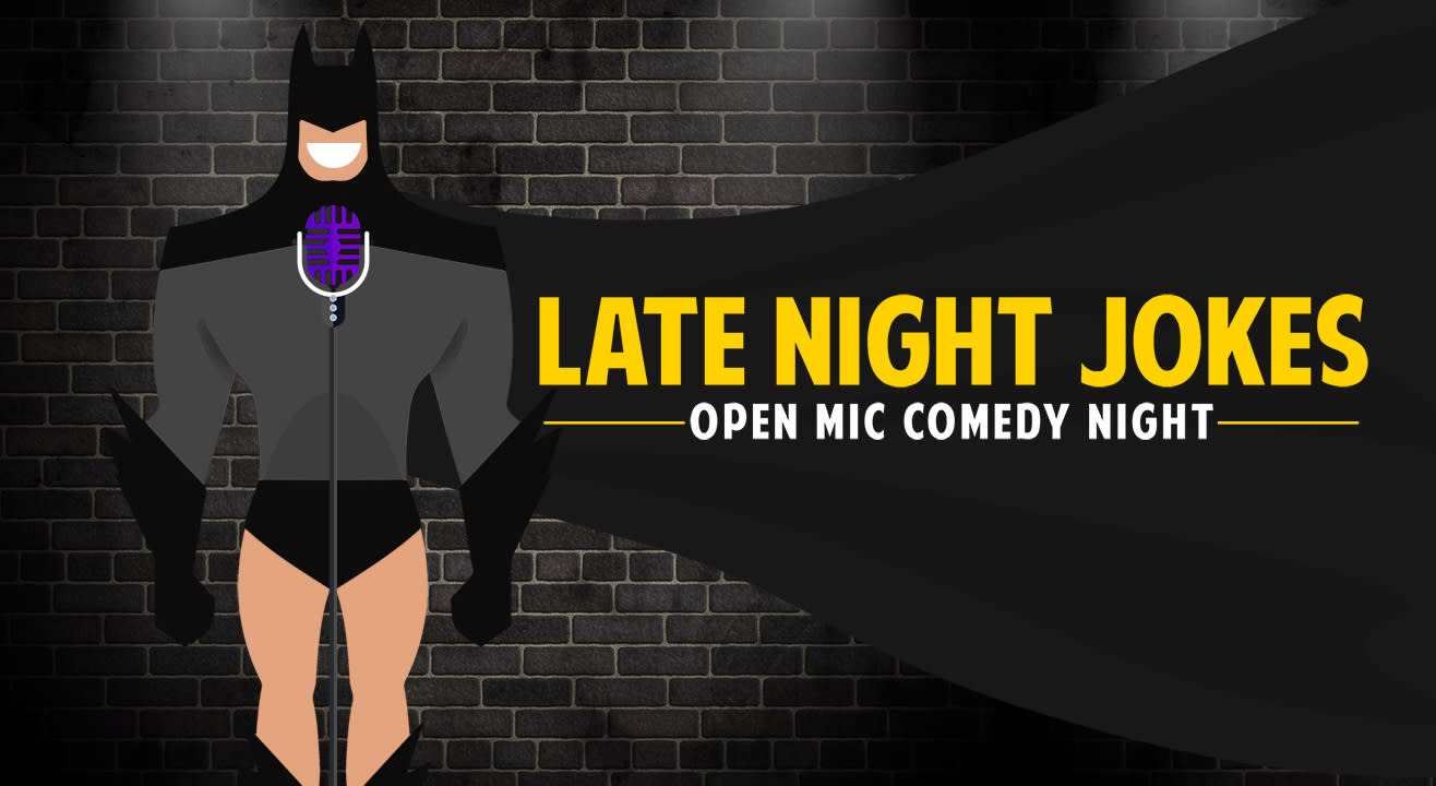 Late Night Jokes, Comedy Open Mic