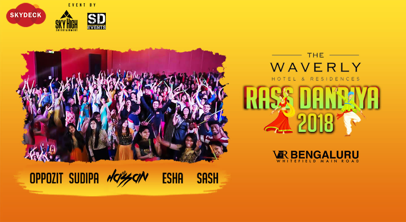 Disco Dandiya at skyDeck Waverly VR Bengaluru