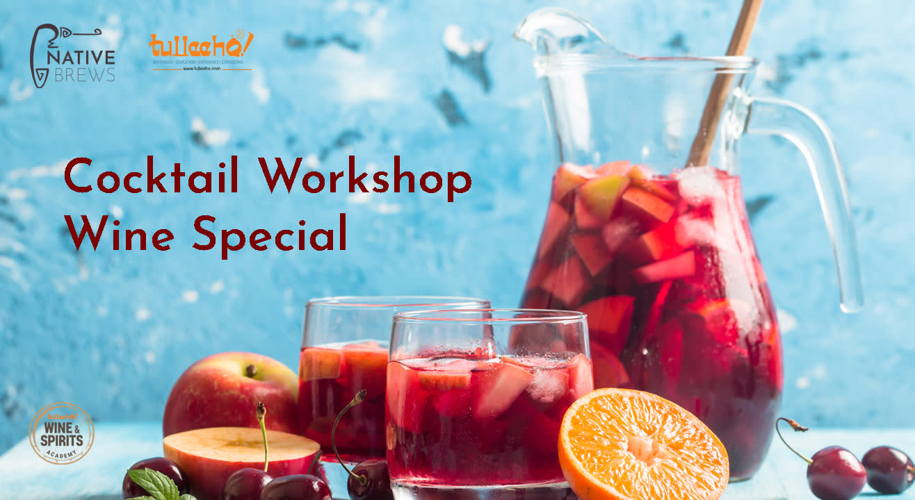 Cocktail Workshop - Wine Special