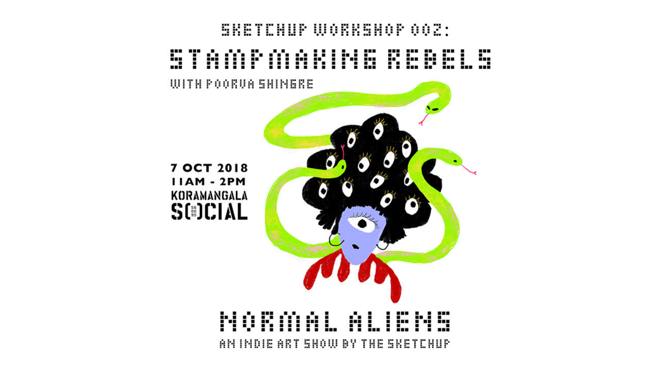 Sketchup Workshop 002: Stamp Making Rebels with Poorva Shingre