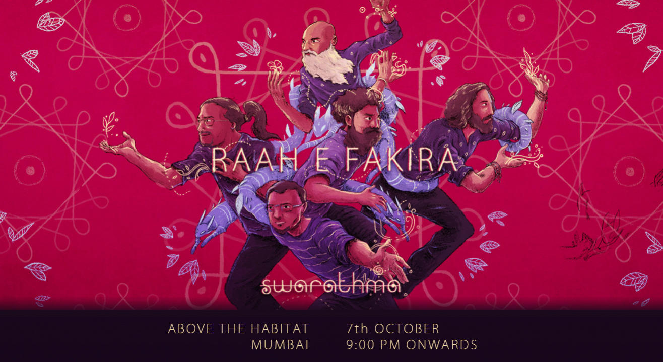 Swarathma's new album: Raah e Fakira India Tour – Mumbai