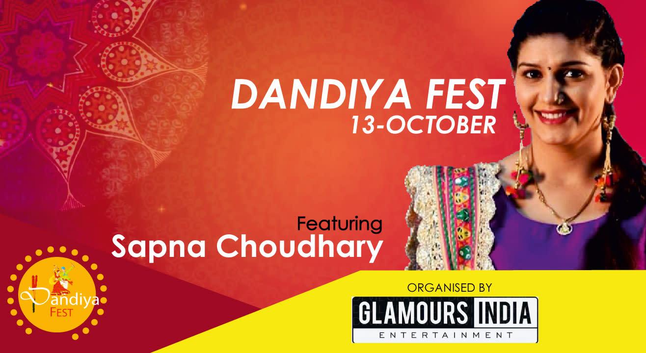 Sapna Chaudhary Live Concert (Dandiya Fest 2k18)