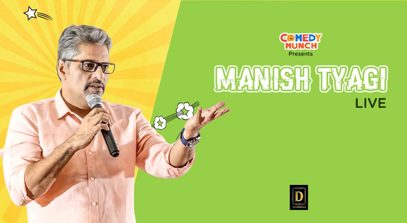 Manish Tyagi Live