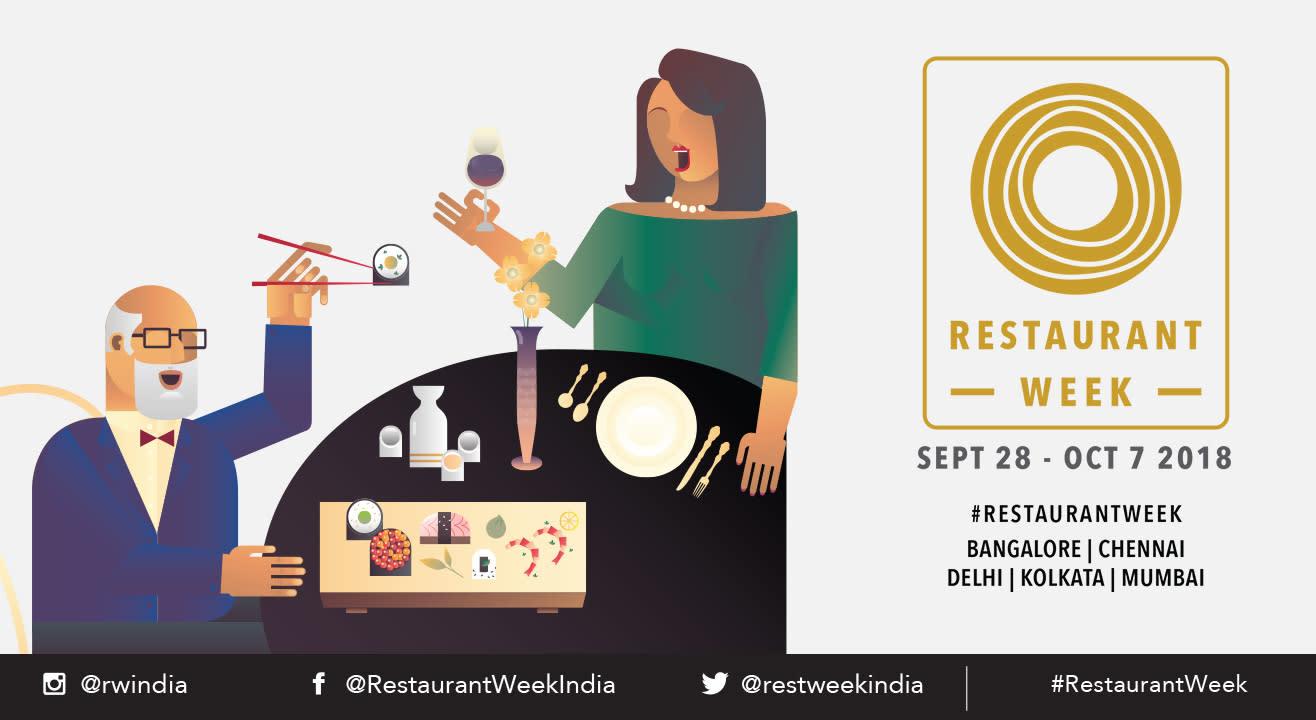 Restaurant Week: September 28 - October 7, 2018