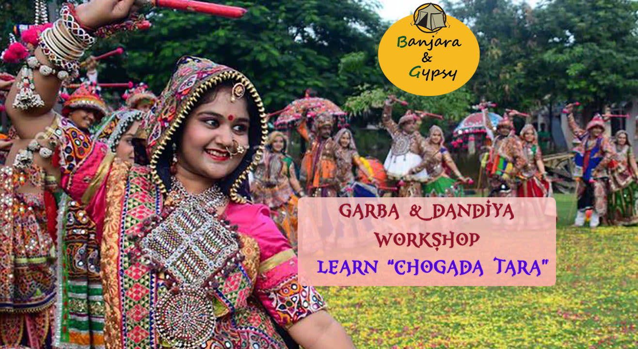 Dandiya And Garba Workshop By Gypsy